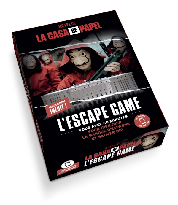 L'Escape Game - La Casa de Papel - Parties 3-4