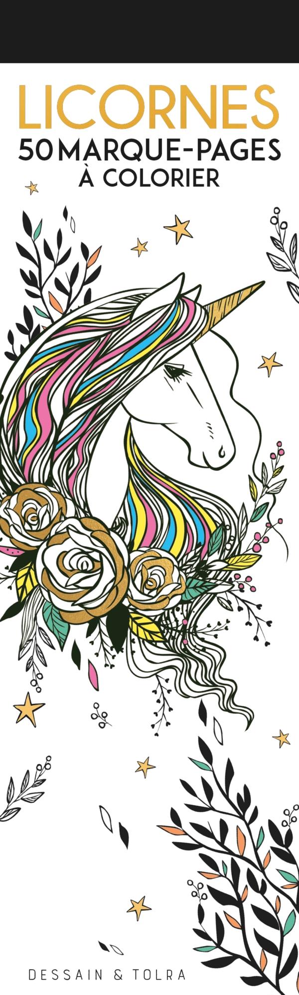 Marque-pages Licornes