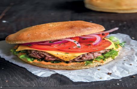 Le burger d'Alex