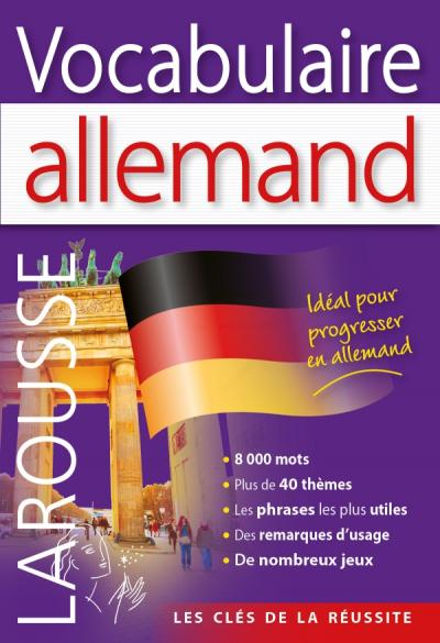 Vocabulaire allemand editions larousse - Vocabulaire cuisine allemand ...