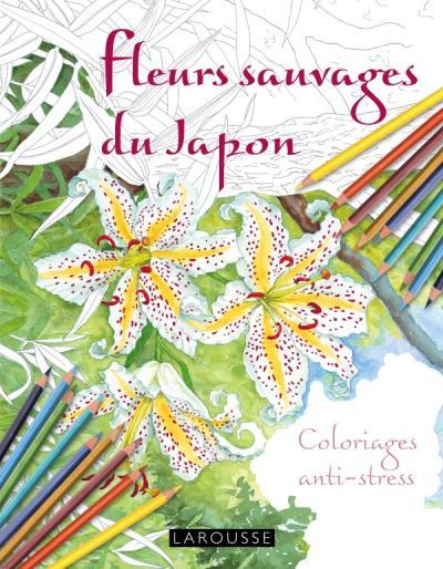 Fleurs sauvages du Japon coloriages anti-stress