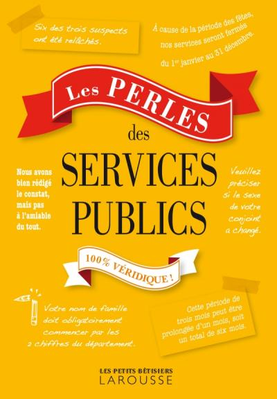 Les Perles des services publics