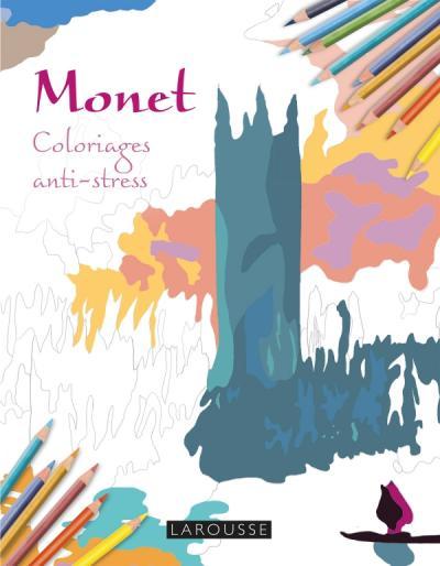 Monet Coloriages anti-stress