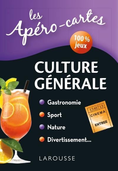 Apéro-cartes Culture Générale