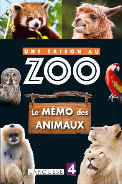 Memo des animaux UNE SAISON AU ZOO