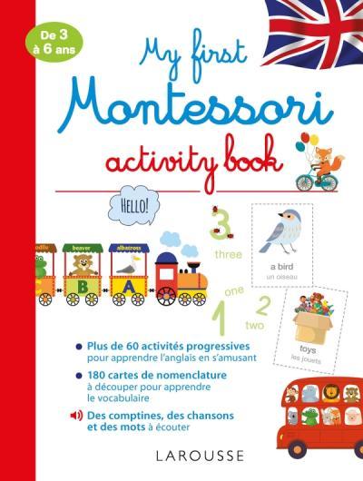My first Montessori activity book