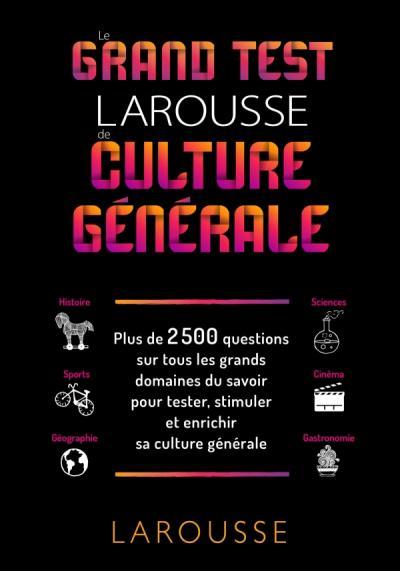 Culture générale domaines