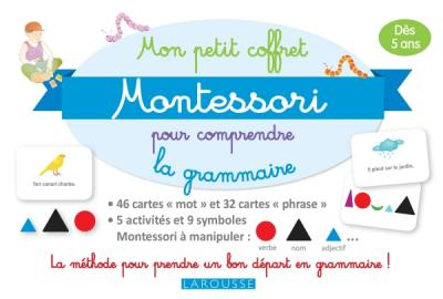 Mon petit coffret Montessori pour comprendre la grammaire