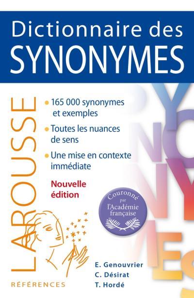 Dictionnaire des synonymes editions larousse - Dictionnaire de cuisine larousse ...