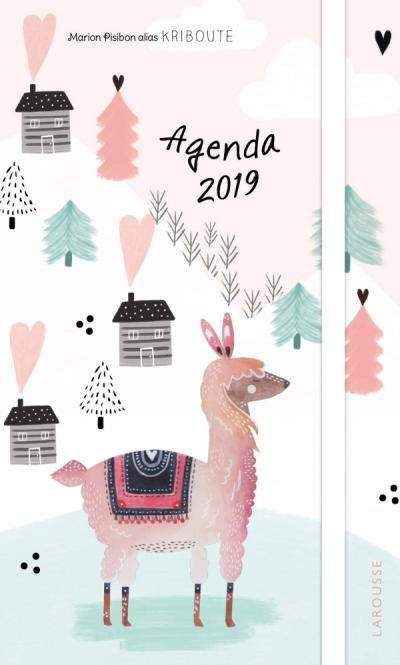 L'agenda 2019 illustré par Kriboute