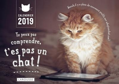 Tu peux pas comprendre t'es pas un chat - calendrier