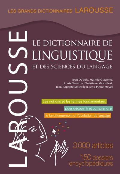 Grand dictionnaire de linguistique et sciences du langage