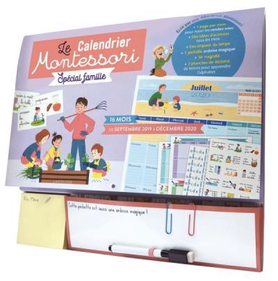 Calendrier  Montessori