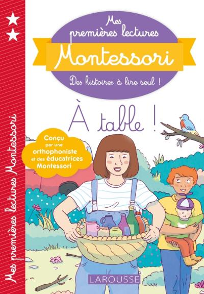 mes premi res lectures montessori a table editions larousse. Black Bedroom Furniture Sets. Home Design Ideas