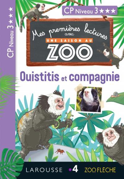 1ères lectures Une saison au Zoo - Ouistitis et compagnie