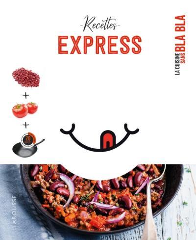 65 recettes express sans bla bla