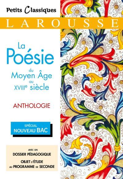 La Poésie du Moyen Âge au XVIIIème