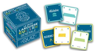 Quiz Petit Larousse culture générale