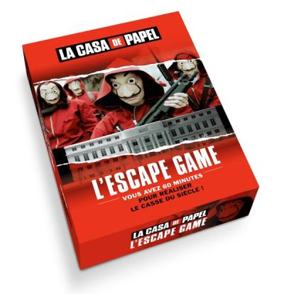 L'Escape Game officiel de La Casa de Papel