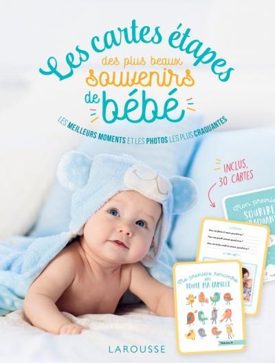 Les cartes étapes des plus beaux souvenirs de bébé