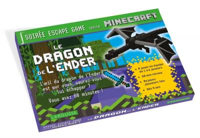 ESCAPE GAME special Minecraft - Le dragon de l'Ender