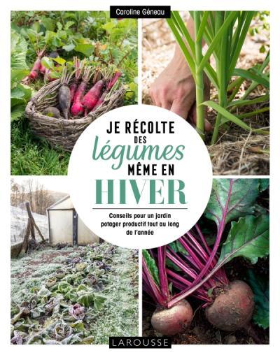 Je récolte des légumes, même en hiver