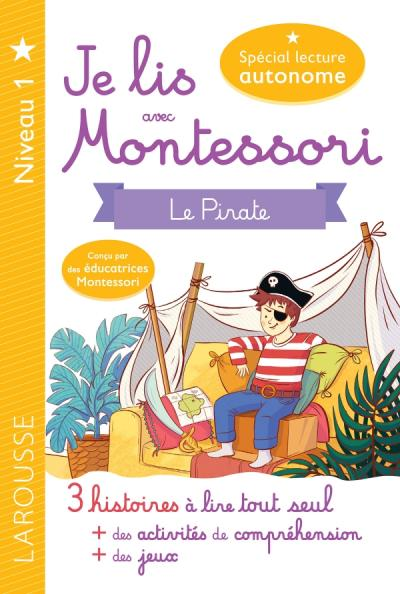 Je lis avec Montessori - Le pirate