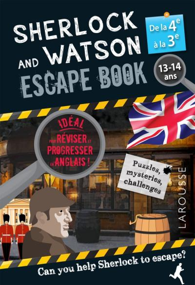Sherlock Escape book spécial 4e/3e