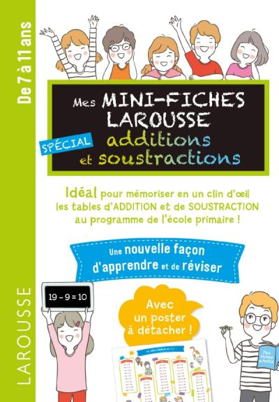 Mini Fiches spécial Additions et soustractions Additions