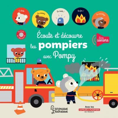 écoute et découvre les pompiers avec Pompy