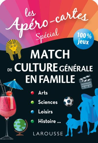 Apéro-cartes culture générale - Le match 100% famille
