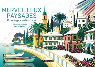 Merveilleux paysages - Coloriages anti-stress