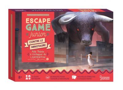 Escape Game Junior - Contre le Minotaure - Aide Thésée à s'échapper du labyrinthe
