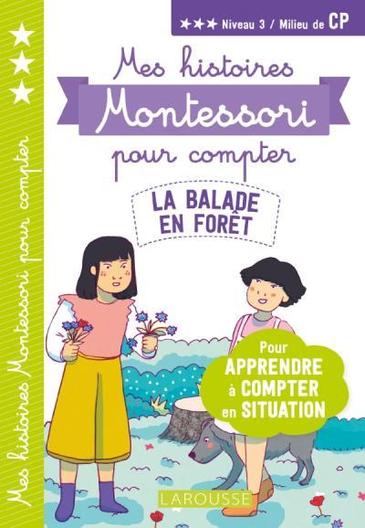 Mes premières histoires Montessori à compter La balade en forêt