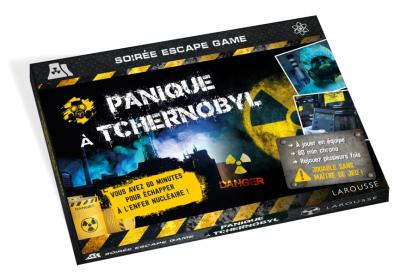 ESCAPE GAME Panique à Tchernobyl