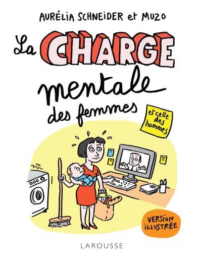 La Charge mentale des femmes et celle des hommes illustrée