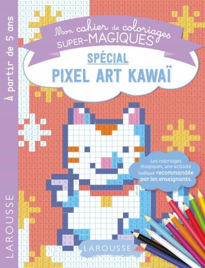 Coloriages magiques en pixel, spécial Chiffres Kawai