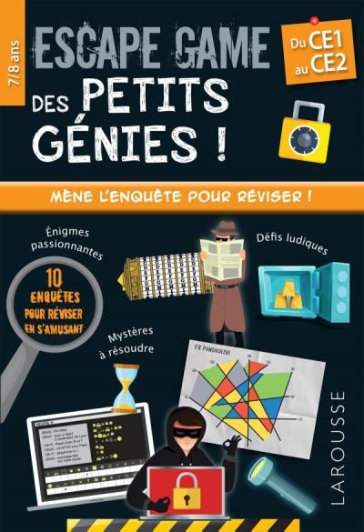 Escape game des petits génies CE1-CE2