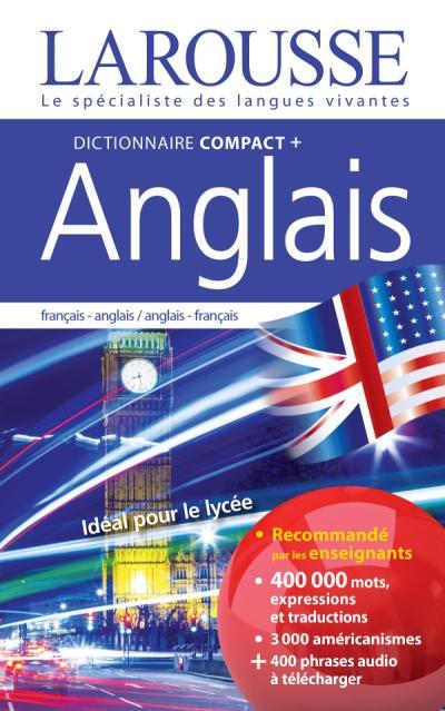 Dictionnaire compact plus français-anglais