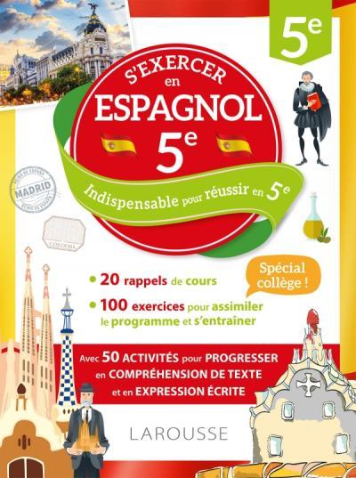 Cahier Larousse Espagnol 5e
