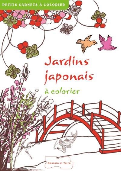 Jardins japonais à colorier