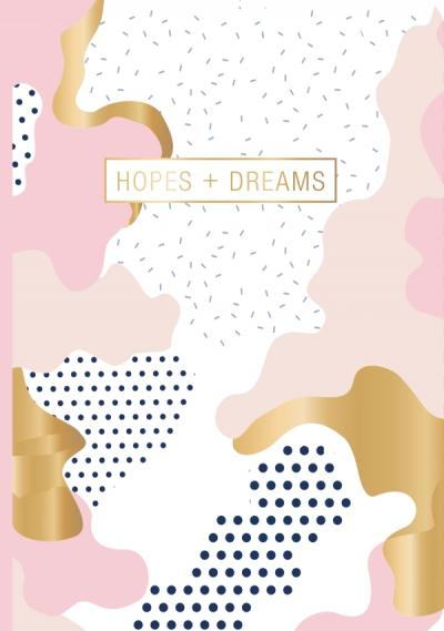 "Carnet ""Hopes + Dreams"""