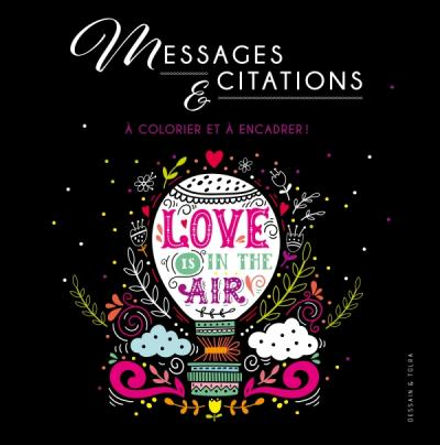 Messages et citations