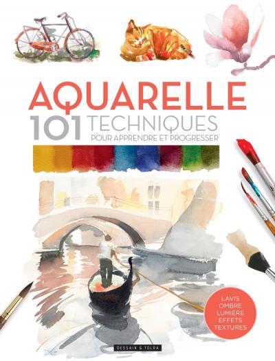Aquarelle 101 techniques pour apprendre et progresser