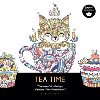 Happy coloriage - Tea time