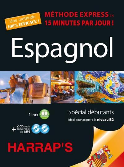 Harrap's méthode Express Espagnol 2CD+livre