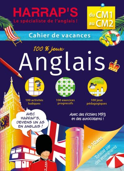 Harraps Cahier de Vacances CM1