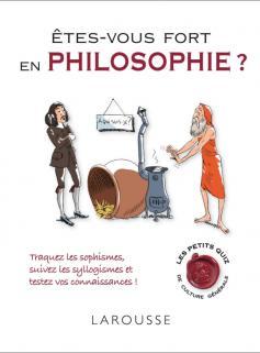 Etes-vous fort en philosophie ?