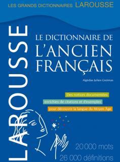 Dictionnaire de l'ancien français