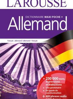 Dictionnaire Larousse maxi poche plus Allemand